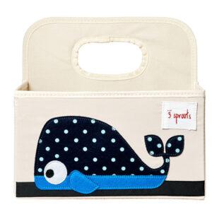 cestino porta pannolini balena