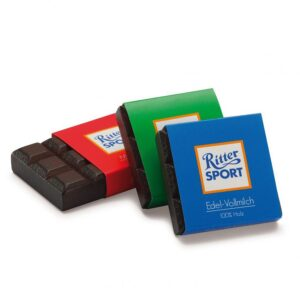 quadratini di cioccolato