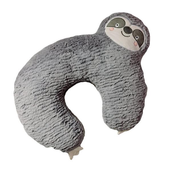cuscino allattamento a forma di bradipo
