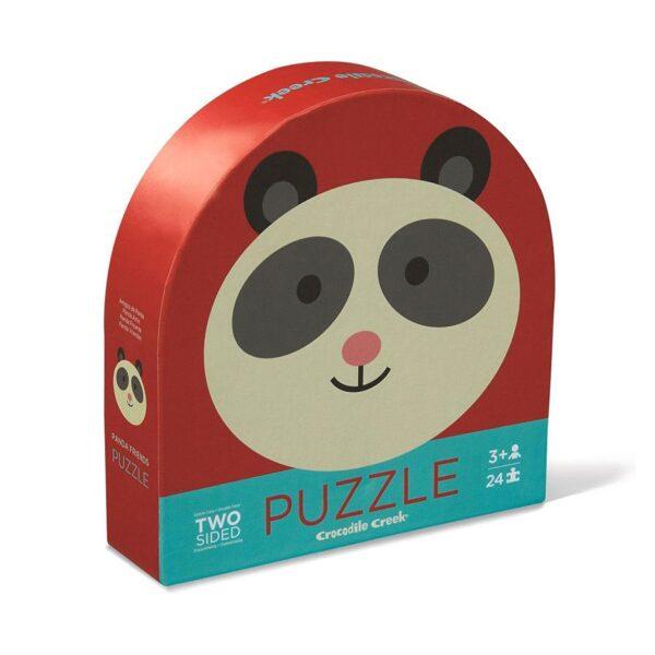 puzzle-2-facce-panda-friends-crocodile-creek