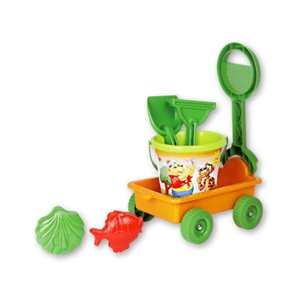 carrello-arancio-verde-con-setaccio-set-mare-androne-giocattoli