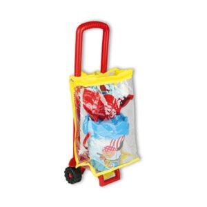 carrello-sacca-set-spiaggia-rosso-androni-giocattoli