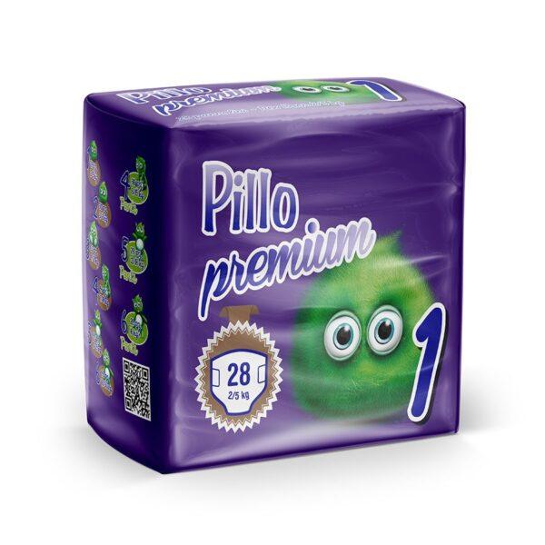 pillo premium new born taglia 1