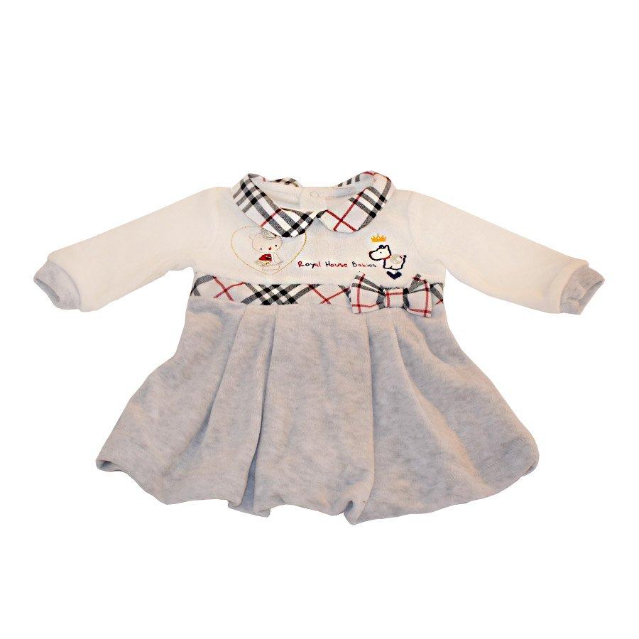9ae7e406119b Click to enlarge. HomeModa FamilyBambinaTutine e vestitini Abitino Ciniglia  Royal House Babies Bianco – Ellepi