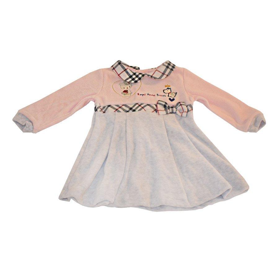 c746133ef93c Click to enlarge. HomeModa FamilyBambinaTutine e vestitini Abitino Ciniglia  Royal House Babies Rosa – Ellepi