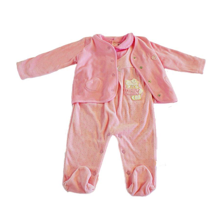 design popolare cerca il meglio design unico Completo Ciniglia Rosa I Love Mom - Pastello