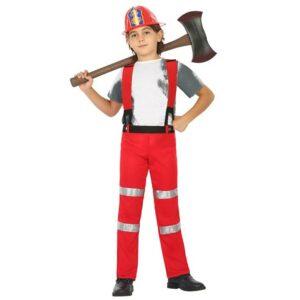 costume pompiere