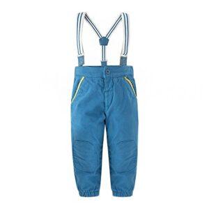 pantaloni in tessuto folk