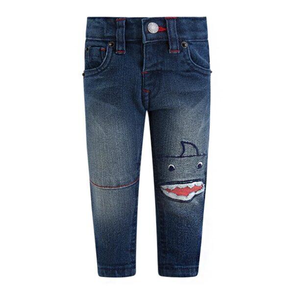 pantaloni jeans fish rain