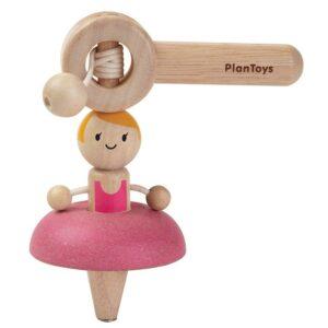 ballerina rotante -ballet-top-plantoys