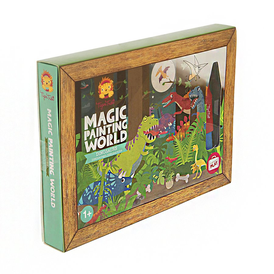 Magic Painting World Dinosaurs Tavole Da Colorare Tiger Tribe