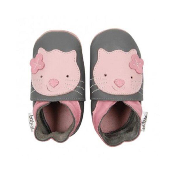 bobux soft sole grigio gattino