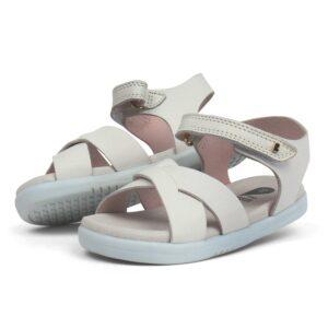sandalo roman bianco