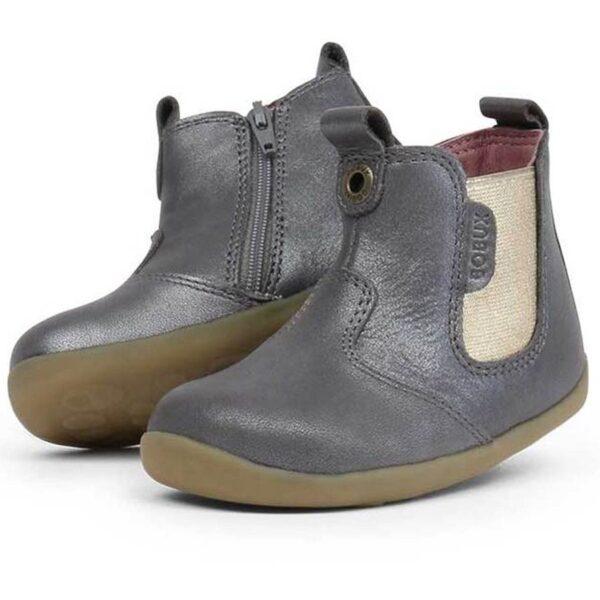 step up jodphur boot grigio oro