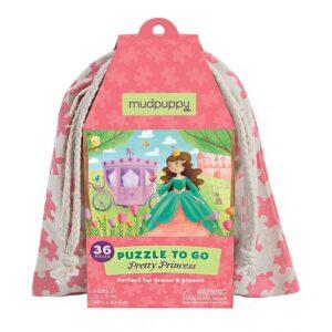 puzzle to go la principessa mudpuppy