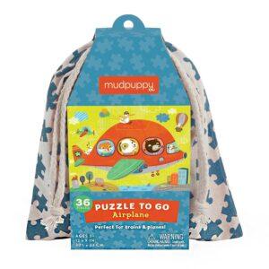 puzzle to go aereo degli animali