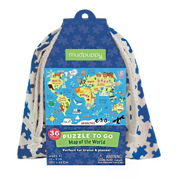 puzzle to go mappa del mondo