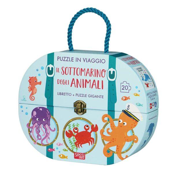 il sottomarino degli animali libretto puzzle gigante