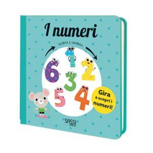 i numeri - ruota e impara sassi junior
