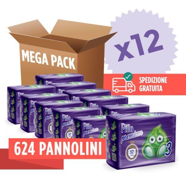 Offerta Pannolini Pillo taglia 3 - 12 pacchi